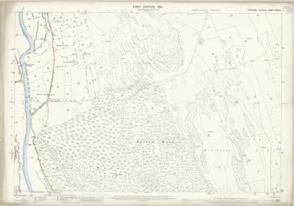 Yorkshire CXXXIV.1 (includes: Conistone With Kilnsey; Grassington) - 25 Inch Map