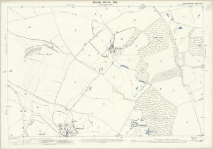 Hertfordshire VIII.9 (includes: Clothall; Wallington; Weston) - 25 Inch Map