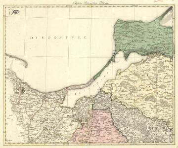 Regni Borussiae Episcopatus Warmiensis Palatinatus Mariaeburgensis et Culmensis cum Territorio Dantiscano et Ichnographia Urbis Regiomontis].