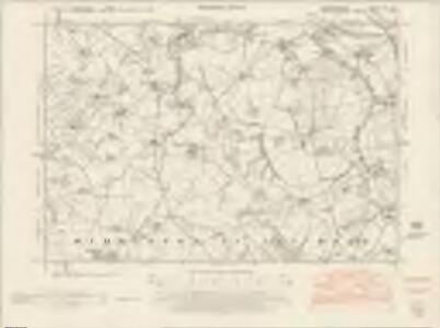 Herefordshire VIII.SW - OS Six-Inch Map