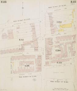 Insurance Plan of London North & North-East District Vol. E: sheet 23