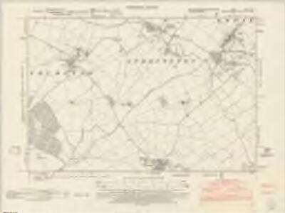 Northamptonshire XXVII.NE - OS Six-Inch Map