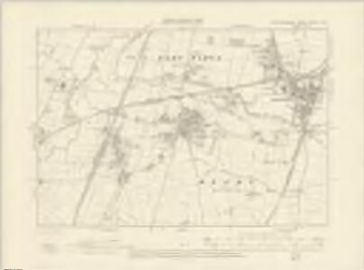 Leicestershire XXXVII.SW - OS Six-Inch Map