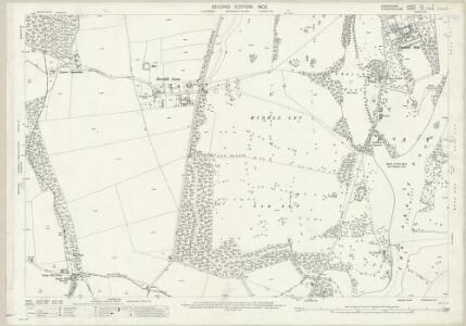 Shropshire LII.7 (includes: Badger; Beckbury; Patshull; Pattingham; Worfield) - 25 Inch Map