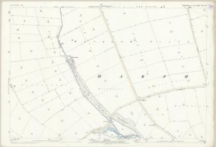 Yorkshire CXLV.14 (includes: Harpham; Kilham) - 25 Inch Map