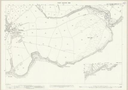 Isle of Man XIV.1 & 2 - 25 Inch Map