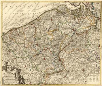 Novissima et Accuratissima Comitatus Flandriae