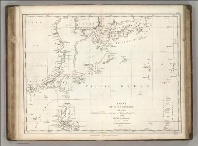 Chart of Discoveries, Made in 1787, in the Seas of China and Tartary, Sheet I.