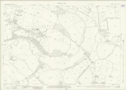 Surrey XXIV.5 (includes: Guildford; Send; Woking; Worplesdon) - 25 Inch Map