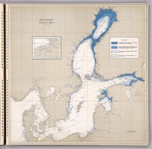 Ice Chart, Baltic Sea, January.