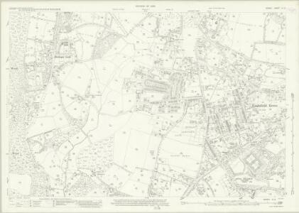 Surrey IV.12 (includes: Egham) - 25 Inch Map