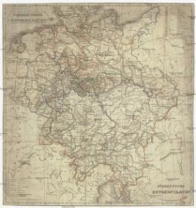 Norddeutsche Bundesstaaten, Süddeutsche Bundesstaaten