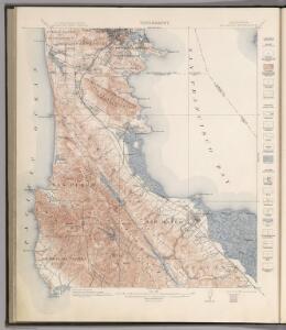 San Mateo Quadrangle.  Topography.