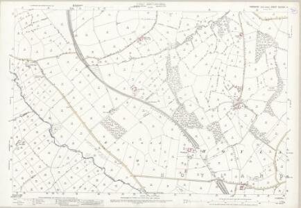 Yorkshire CCLXXIII.11 (includes: Cawthorne; Gunthwaite And Ingbirchworth; Penistone) - 25 Inch Map