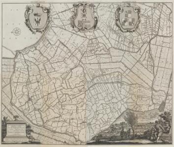 Nieuwe caarte van het Dykgraafschap van West-Vriesland, genaamt Geestmer-Ambagt, Schager en Niedorper Cogge