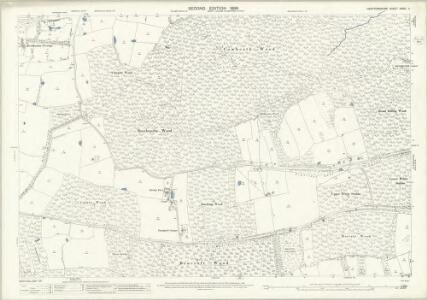 Hertfordshire XXXVI.11 (includes: Bayford; Bishops Hatfield; Brickendon Liberty) - 25 Inch Map