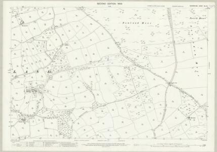 Devon XLI.16 (includes: Dowland; Iddesleigh; Winkleigh) - 25 Inch Map