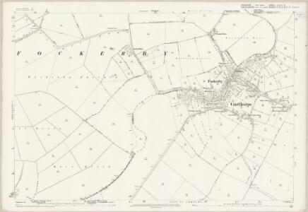 Yorkshire CCLIII.12 (includes: Adlingfleet; Fockerby; Garthorpe; Haldenby) - 25 Inch Map