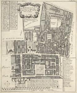 The PARISH of ST. JAMES'S, Westminster, taken from the last Survey with Corrections 3