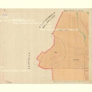Trschitz - m3142-1-007 - Kaiserpflichtexemplar der Landkarten des stabilen Katasters