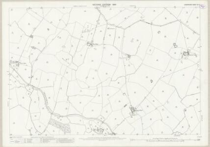 Shropshire XX.3 (includes: Baschurch; Cockshutt; Hordley) - 25 Inch Map