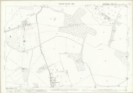 Hertfordshire XLIII.10 (includes: Chalfont St Peter; Chorleywood; Rickmansworth Urban) - 25 Inch Map