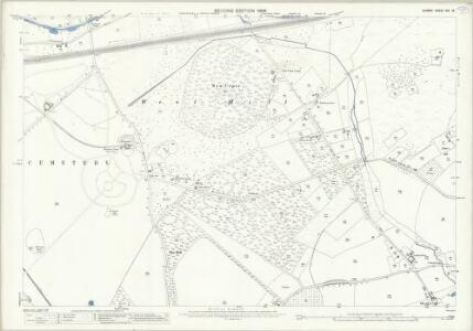 Surrey XVI.15 (includes: Woking) - 25 Inch Map