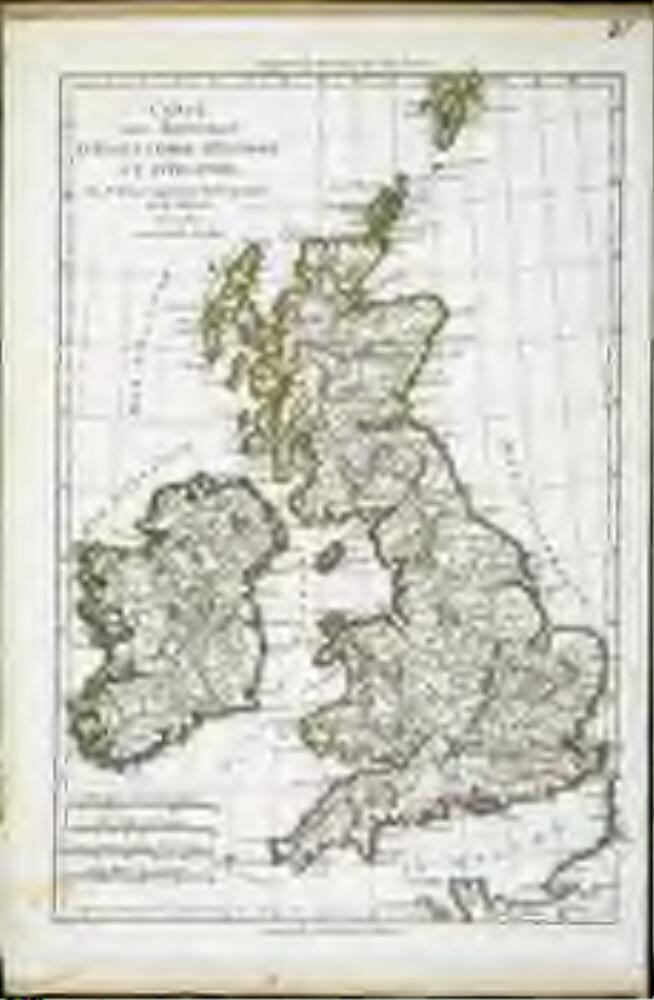 Carte Angleterre Irlande Ecosse.Carte Des Royaumes D Angleterre D Ecosse Et D Irlande