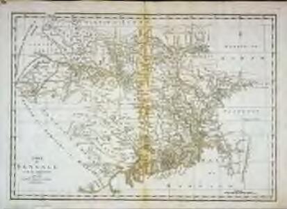 Carte du Bengale et de ses dépendances