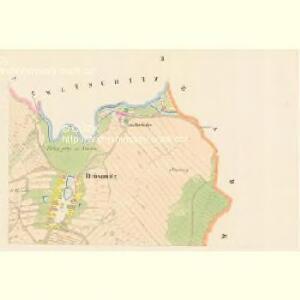 Drösowitz - c7494-1-002 - Kaiserpflichtexemplar der Landkarten des stabilen Katasters