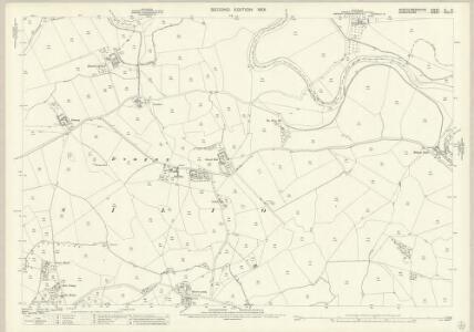 Montgomeryshire XI.10 (includes: Kinnerley; Llandysilio; Llanymynech) - 25 Inch Map