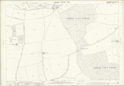 Oxfordshire XXXVIII.15 (includes: Appleton with Eaton; Fyfield; Kingston Bagpuize; Northmoor; Tubney) - 25 Inch Map