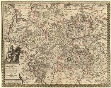 Ducatus Brunsvicensis Fereque Lunaeburgensis Cum adiacentibus Episcopatibus, Comitatibus et Dominatibus etc: nova et locupletißima Descriptio Geographica