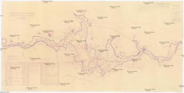 Zátopová plocha vodního díla Lipno