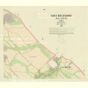 Ober Ebersdorf - c2041-1-002 - Kaiserpflichtexemplar der Landkarten des stabilen Katasters