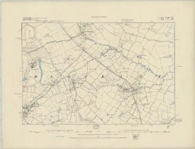 Worcestershire LVII.NW - OS Six-Inch Map