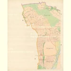 Bilnitz - m0305-1-001 - Kaiserpflichtexemplar der Landkarten des stabilen Katasters