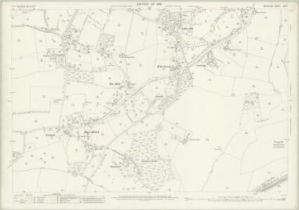 Berkshire XXX.7 (includes: Hurley; Ruscombe; Waltham St Lawrence; Wargrave) - 25 Inch Map