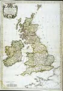 Carte des isles Britanniques et de la Manche