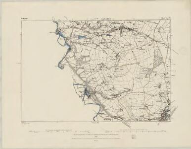 Derbyshire IV.SW - OS Six-Inch Map