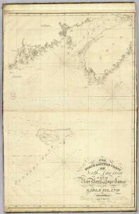 The north eastern coast, North America, New York to Cape Canso (center sheet)
