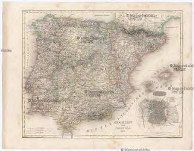 SPANIEN und PORTUGAL 1847