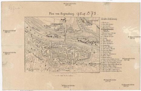 Plan von Regensburg