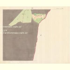 Alt Hrosenkau (Stary Hrasenkow) - m2868-1-014 - Kaiserpflichtexemplar der Landkarten des stabilen Katasters