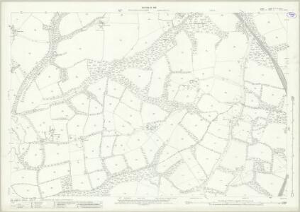 Surrey XL.15 & XLVII .3 (includes: Capel; Horsham Rural; Ockley; Rusper; Warnham) - 25 Inch Map