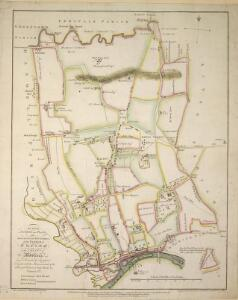 An actual survey and plan of the Processional Boundaries of the Parish of Ealing. ... Survey'd and drawn by A. Bassett.