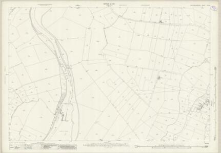 Nottinghamshire XXV.16 (includes: Cromwell; Langford; North Collingham; North Muskham; South Collingham) - 25 Inch Map