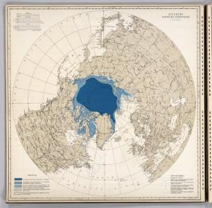 Ice Chart, Northern Hemisphere, October.