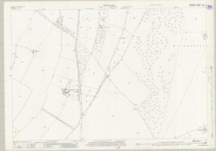Wiltshire LXXVI.1 (includes: Coombe Bissett; Martin; Rockbourne; Stratford Tony) - 25 Inch Map