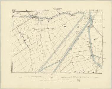 Norfolk LXVIII.SW - OS Six-Inch Map